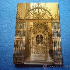 Postales: POSTAL SANTO DOMINGO DE LA CALZADA CATEDRAL ALTAR NO CIRCULADA. Lote 38094346