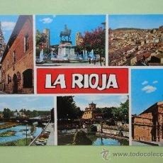 Postales: VISTAS DE LA RIOJA.. Lote 38666508