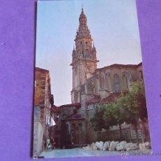 Postales: LOGROÑO-V15-NO ESCRITA-SANTO DOMINGO DE LA CALZADA-TORRE DE LA CATEDRAL. Lote 39786046