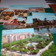 Postales: LOTE DE 5 POSTALES DE LOGROÑO. AÑOS 80. Lote 40973392