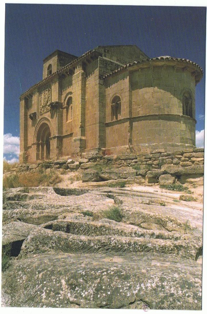 POSTAL IGLESIA SANTA MARIA DE LA PISCINA SXII SIN CIRCULAR (Postales - España - La Rioja Moderna (desde 1.940))
