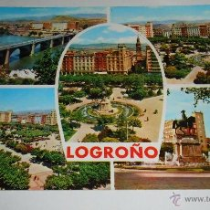 Postales: POSTAL LOGROÑO. EDITADA 1966. Lote 41610266