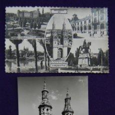 Postales: 2 POSTALES DE LOGROÑO (LA RIOJA). EDICIONES ARRIBAS (ZARAGOZA). AÑOS 50.. Lote 42027250