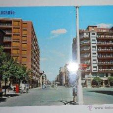 Postales: POSTAL LOGROÑO. CALLE VARA DE REY. EDITADA 1968. Lote 42029423