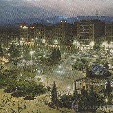 Postales: LOGROÑO, PASEO DEL ESPOLON, EDITOR: DOMINGUEZ Nº 4 ESCRITA EN 1965. Lote 42138744