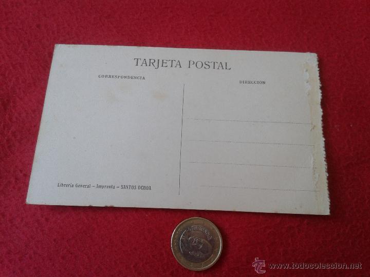 Postales: ANTIGUA POSTAL DE LOGROÑO PORTADA DE SAN BARTOLOME LIBRERIA GENERAL IMPRENTA SANTOS OCHOA N/E N/C - Foto 2 - 42197966