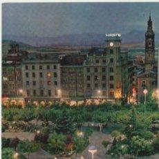 Postales: LOGROÑO.- FUENTE LUMINOSA DEL ESPOLÓN.. Lote 42307890