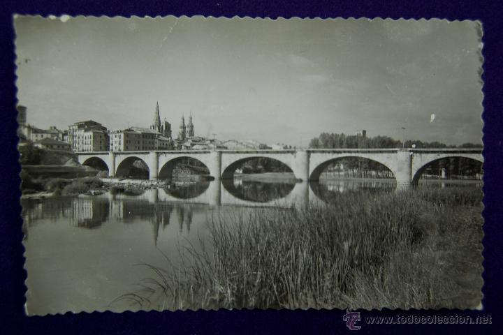 POSTAL DE LOGROÑO. EDICIONES SICILIA. AÑOS 50 (Postales - España - La Rioja Moderna (desde 1.940))