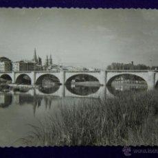Postales: POSTAL DE LOGROÑO. EDICIONES SICILIA. AÑOS 50. Lote 42529343