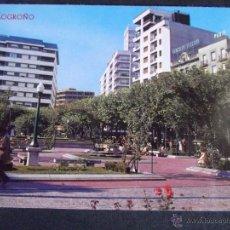 Postales: LOGROÑO-V24-Nº176-JARDINES DEL ESPOLON. Lote 43144820