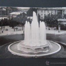 Postales: POSTAL LA RIOJA. LOGROÑO. PLAZA MARQUES DE MURRIETA Y FUENTE MONUMENTAL. CIRCULADA. . Lote 43544163