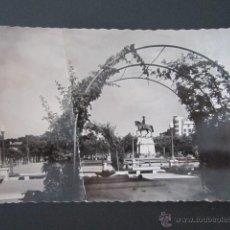 Postales: POSTAL LA RIOJA. LOGROÑO. JARDINES DEL ESPOLÓN. . Lote 43544235