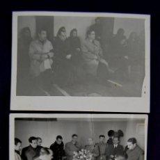 Postales: 3 FOTOS DE ACTOS PROTOCOLARIOS EN LOGROÑO CON AUTORIDADES Y EL GOBERNADOR CIVIL BALLESTERO. 1945. Lote 43932076