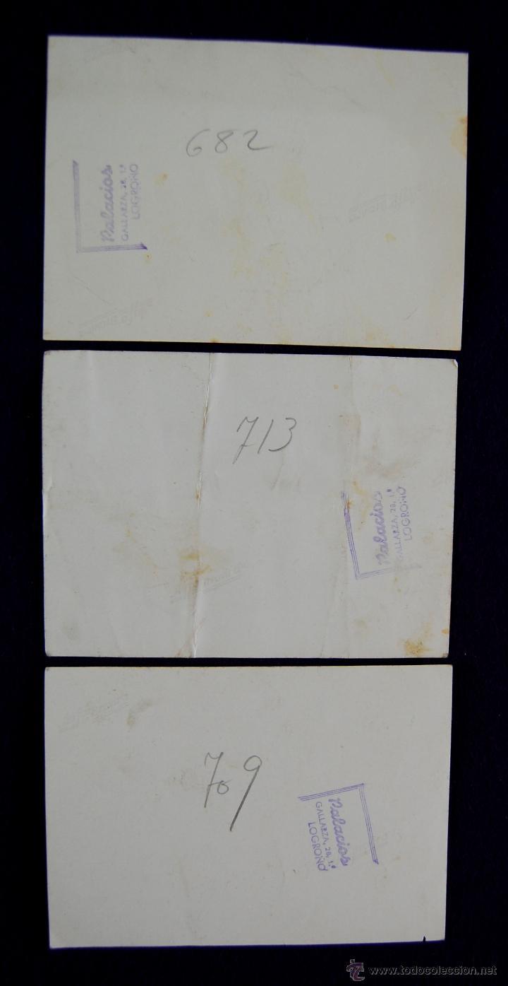 Postales: 3 FOTOS DE ACTOS PROTOCOLARIOS EN LOGROÑO CON AUTORIDADES Y EL GOBERNADOR CIVIL BALLESTERO. 1945 - Foto 2 - 43932076