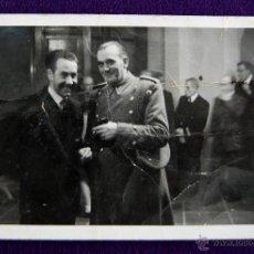 Postales: POSTAL FOTOGRAFICA DE LOGROÑO. AUTORIDADES EN EL PARQUE DE LA CASA SOCIAL CATÓLICA DE LOGROÑO. 1945. Lote 43932143