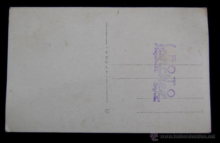 Postales: POSTAL FOTOGRAFICA DE LOGROÑO. EL GOBERNADOR CIVIL DE LOGROÑO, LUIS MARTIN BALLESTERO. 1945 - Foto 2 - 43932173