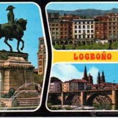 Postales: LOGROÑO .- BELLEZAS DE LA CIUDAD .- EDICION GARCIA GARRABELLA Nº 26 .- SIN CIRCULAR. Lote 43977038