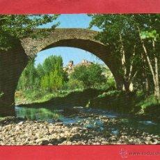 Postales: ENCISO. 1 PUENTE ROMANO. VISTABELLA. Lote 44728597