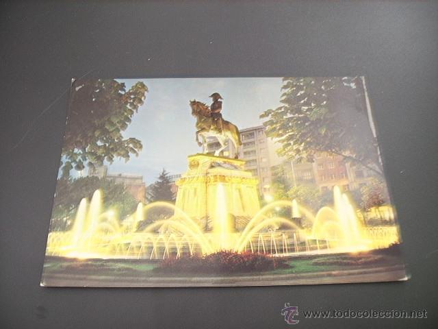LOGROÑO (LA RIOJA) ESTATUA DEL GENERAL ESPARTERO NOCTURNA (Postales - España - La Rioja Moderna (desde 1.940))