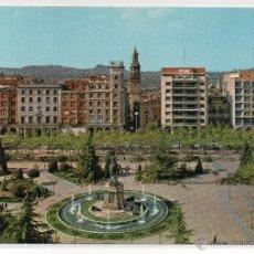 Postales: LOGROÑO Nº 4 .- PASEO DEL ESPOLON .- EDICIONES GARCIA GARRABELLA. Lote 44927743