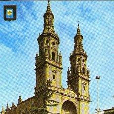 Postales: LOGROÑO - 32 CATEDRAL DE SANTA MARÍA DE LA REDONDA. Lote 44948336