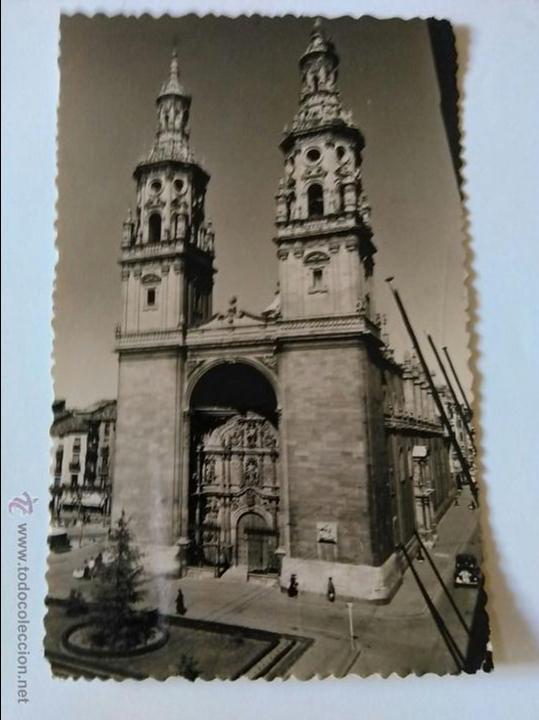 LOGROÑO, TORRES GEMELAS DE LA REDONDA. EDICIONES SICILIA. (Postales - España - La Rioja Moderna (desde 1.940))