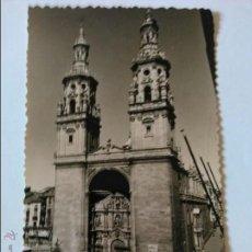 Postales: LOGROÑO, TORRES GEMELAS DE LA REDONDA. EDICIONES SICILIA.. Lote 45573237