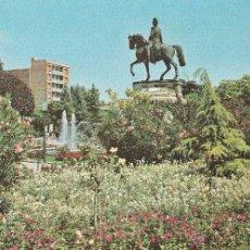 Postales: Nº 13987 POSTAL LOGROÑO LA RIOJA PLAZA DEL ESPOLON MONUMENTO AL GENERAL ESPARTERO. Lote 45775879