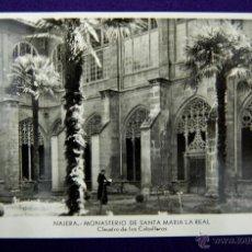 Postales: POSTAL DE NAJERA (LA RIOJA). MONASTERIO DE SANTA MARIA LA REAL. EDICIÓN MANIPEL. AÑOS 50. Lote 45785188