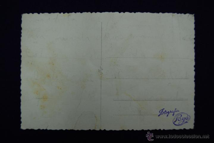 Postales: POSTAL FOTOGRAFICA DE LOGROÑO. CAMPEONATO DE TIRO. EN EL CENTRO EL GOBERNADOR CIVIL DE LOGROÑO. 1945 - Foto 2 - 45785460