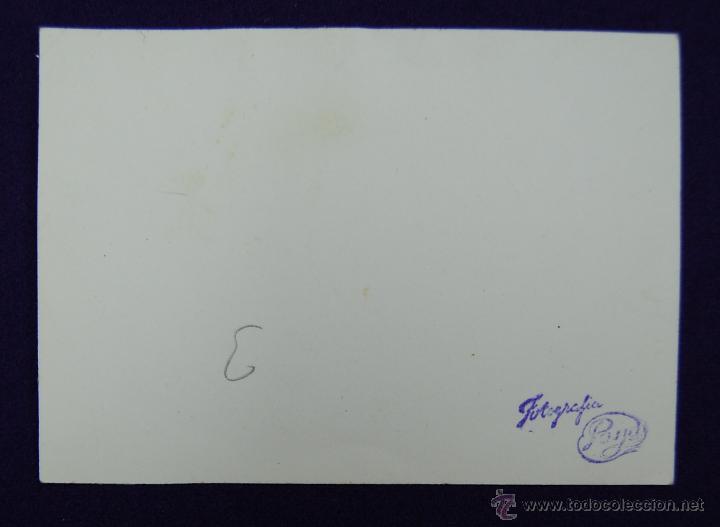 Postales: FOTO DE LOGROÑO. EL GOBERNADOR CIVIL BALLESTERO DE NEGRO EN EL CENTRO. FOTO PAYA. 1945. - Foto 2 - 45785585
