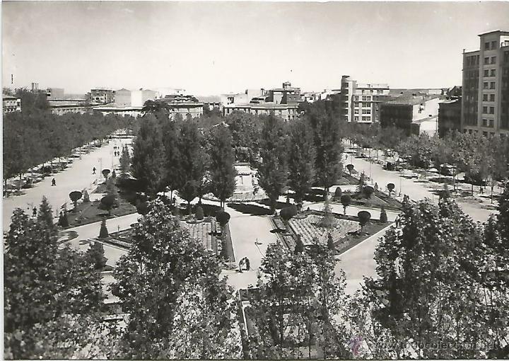 LOGROÑO - PLAZA DEL ESPOLÓN - Nº 17 ED. SICILIA (Postales - España - La Rioja Moderna (desde 1.940))