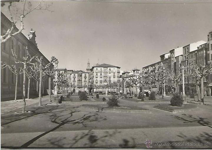 LOGROÑO - PLAZA JARDINES DEL INSTITUTO - Nº 5 ED. SICILIA (Postales - España - La Rioja Moderna (desde 1.940))