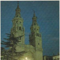 Postales: Nº 14717 POSTAL LOGROÑO SANTA MARIA DE LA REDONDA. Lote 45952914