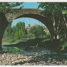 Postales: ENCISO Nº 1 .- PUENTE ROMANO Y VISTA PARCIAL .- EDICIONES VISTABELLA. Lote 46016282