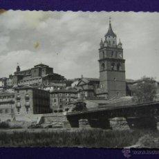 Postales: POSTAL DE CALAHORRA (LA RIOJA). Nº11 VISTA PARCIAL. EDIC GARCIA GARRABELLA-ZARAGOZA. AÑOS 50. Lote 46389082