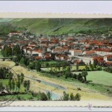 Postales: ANTIGUA POSTAL FOTOGRÁFICA - EZCARAY. 3. VISTA GENERAL - CIRCULADA, AÑO 1958. Lote 46468696