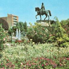Postales: LOGROÑO PLAZA DEL ESPOLON MONUMENTO AL GENERAL ESPARTERO. Lote 46512839