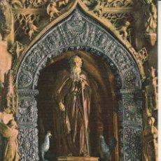 Postales: Nº 19855 POSTAL SANTO DOMINGO DE LA CALZADA LOGROÑO ALTAR . Lote 46773199