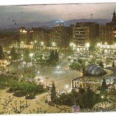 Postales: LOGROÑO - PASEO DE * EL ESPOLON * - VISTA NOCTURNA. Lote 47262684