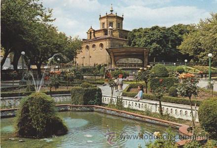 Haro jardines de la vega basilica n 3 comprar postales de la rioja en todocoleccion - Jardines de azahar rioja ...