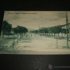 Postales: CALAHORRA PASEO DE CANALEJAS ANTER MERCADAL FOTO TUTOR HELIOTIPIA DE KALMEYER Y GAUTIER MADRID. Lote 49750798