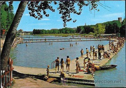 Postal logro o r o ebro y piscinas municipa comprar for Piscinas con toboganes en la rioja