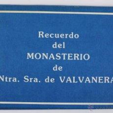 Postales: BP-43.MONASTERIO DE NTRA. SRA. DE VALVANERA (LA RIOJA) CUADERNO CON 10 POSTALES. NUEVO.. Lote 52431104
