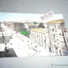 Postales: 6 - LOGROÑO CALLE VARA DEL REY EDC. DARVI POSTAL ILUMINADA CON ANILINAS CIRCULADA 1961 - 14X9 CM. . Lote 52507080