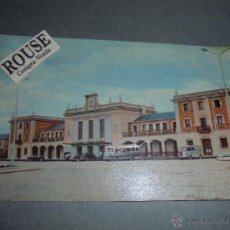 Postales: 6 .- LOGROÑO LA ESTACION - CIRCULADA 1961 - FOTOCOLOR -14X9 CM. . Lote 52507582