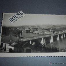Postales: 2 - LOGROÑO - VISTA DE LOS PUENTES Y RIO EBRO EDC. JOSECHU - CIRCULADA 1957 - 14X9 CM. . Lote 52516070