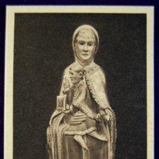 Cartes Postales: POSTAL DE VALVANERA (LA RIOJA). LA SAGRADA IMAGEN. EDIT.ARTES BILBAO. AÑOS 40.. Lote 53045707