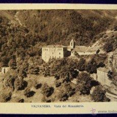 Postales: POSTAL DE VALVANERA (LA RIOJA). VISTA DEL MONASTERIO. EDIT.ARTES BILBAO. AÑOS 40.. Lote 53045776