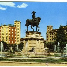 Postales: Nº 8 LOGROÑO. MONUMENTO A ESPARTERO. EDICIONES DOMÍNGUEZ. ESCUDO DE ORO. . Lote 54908338